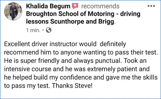 Broughton School of Motoring